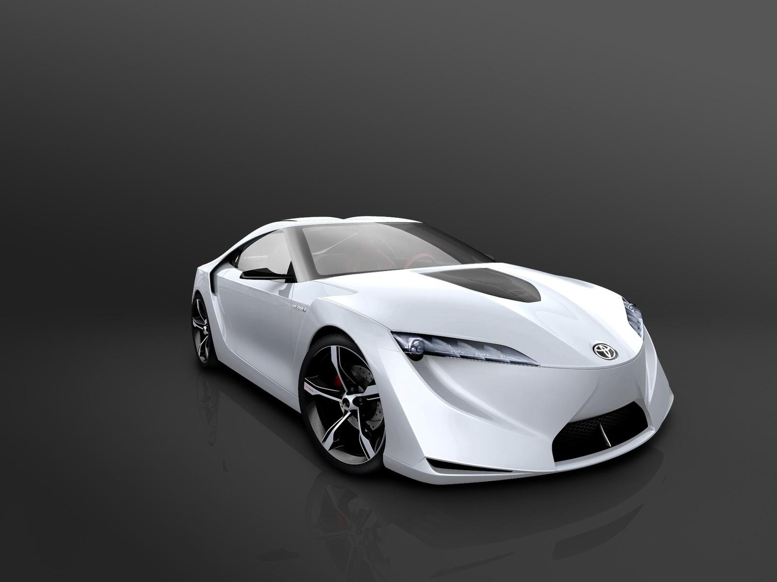 ���� 2007-Toyota-FT-HS-Concept-Front-Angle-Studio 1600x1200