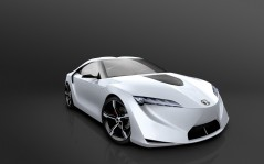 2007-Toyota-FT-HS-Concept-Front-Angle-Studio / 1600x1200