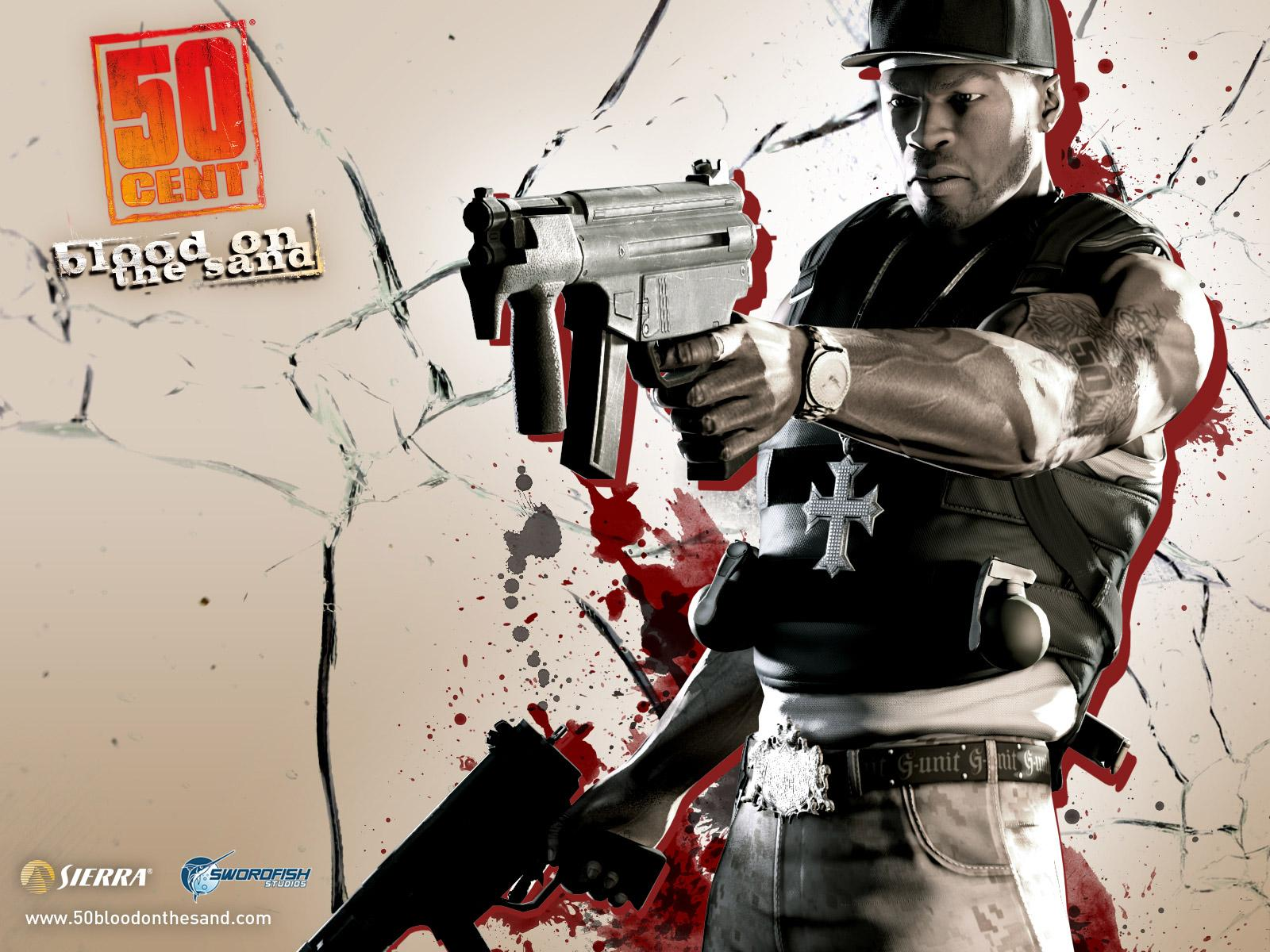 Обои 50 Cent: Blood on the Sand 1600x1200