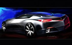Acura Advanced Sports Car Concept / 1024x768
