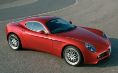 Alfa Romeo 8C Spider Red / 1920x1200