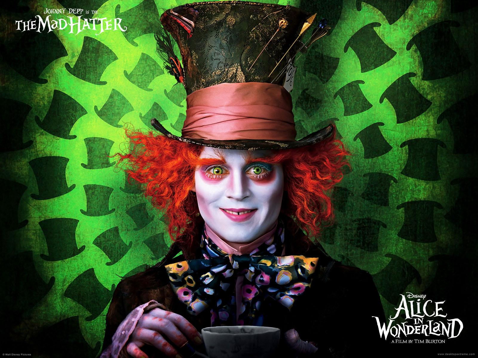 ���� Alice In Womderland 1600x1200