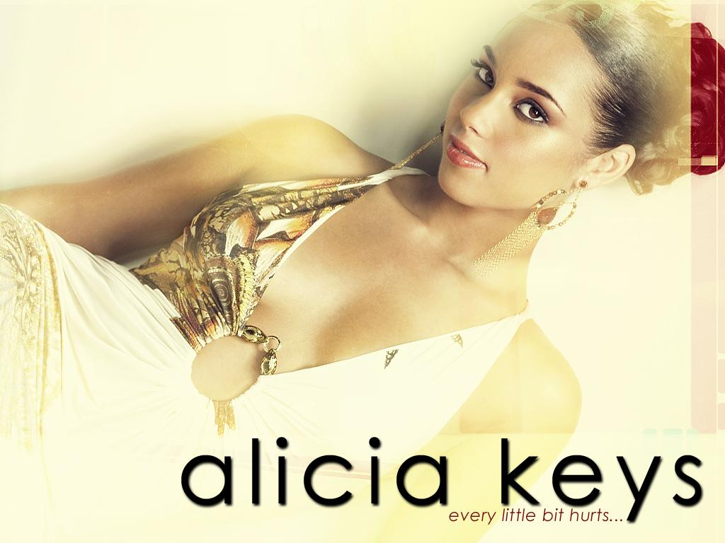 Обои Alicia Keys - Every Little bit hurts.. 1024x768