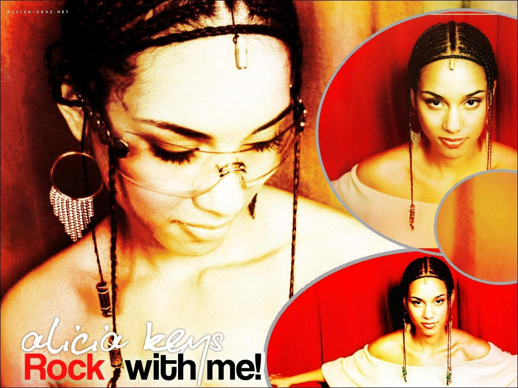 Обои Alicia Keys - Rock With Me 1024x768