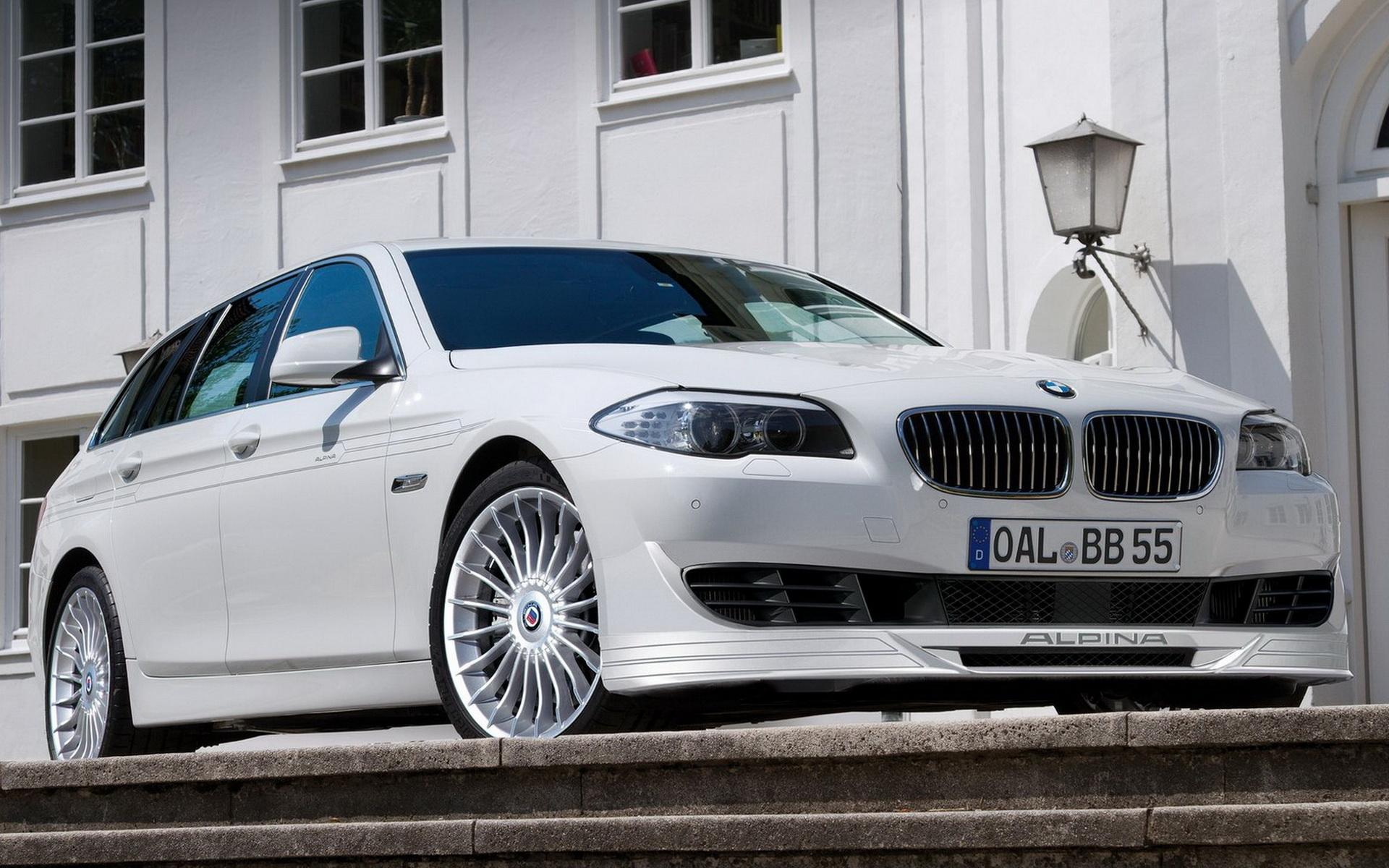 Обои Alpina-BMW B5 Bi-Turbo 1920x1200