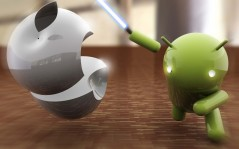 Android vs Apple / 1920x1200