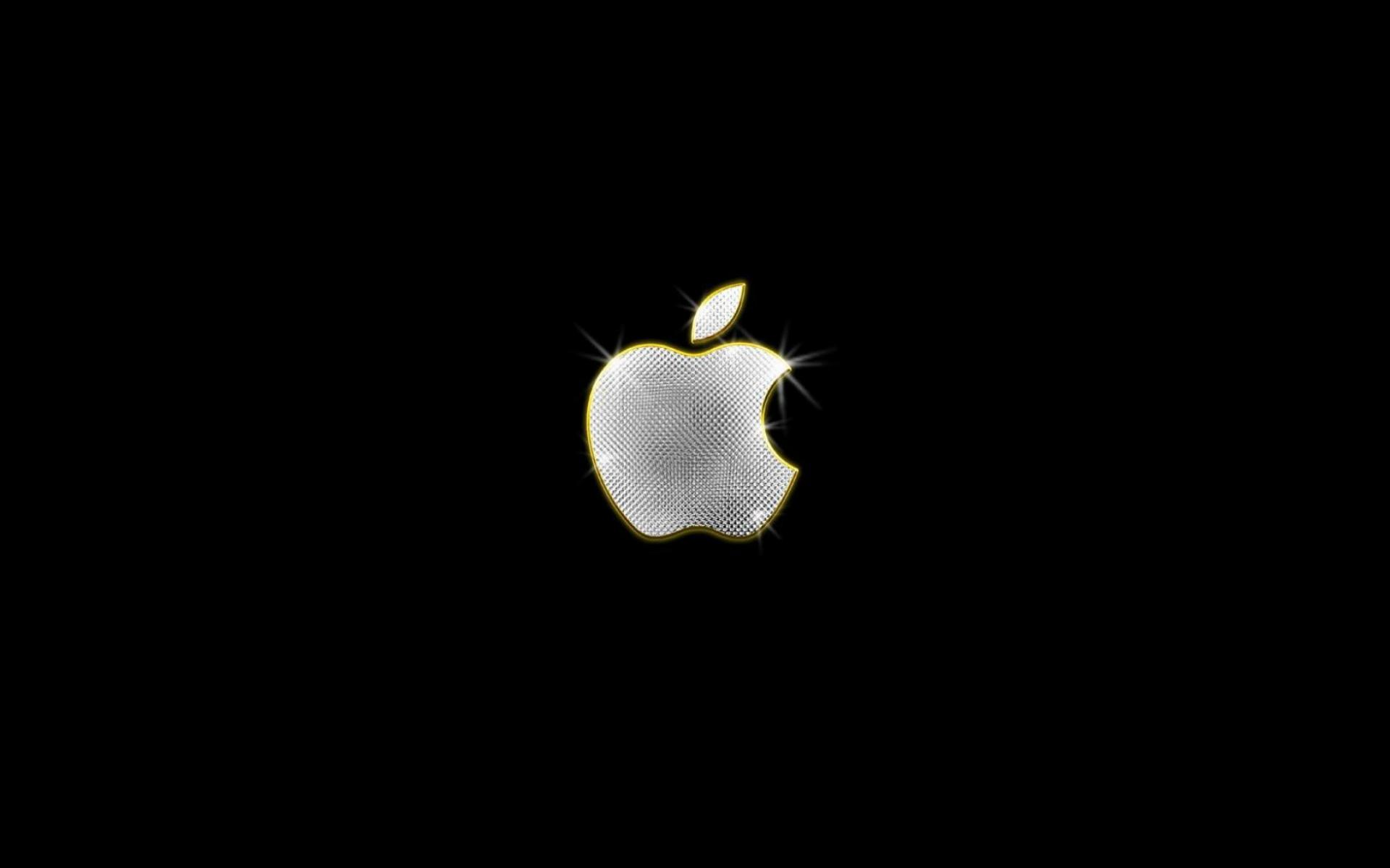 Обои Apple Black 1920x1200