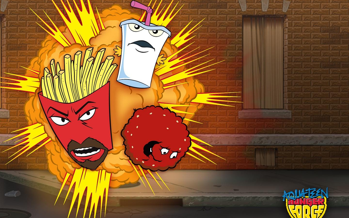 Обои Aqua Teen Hunger Force 1440x900