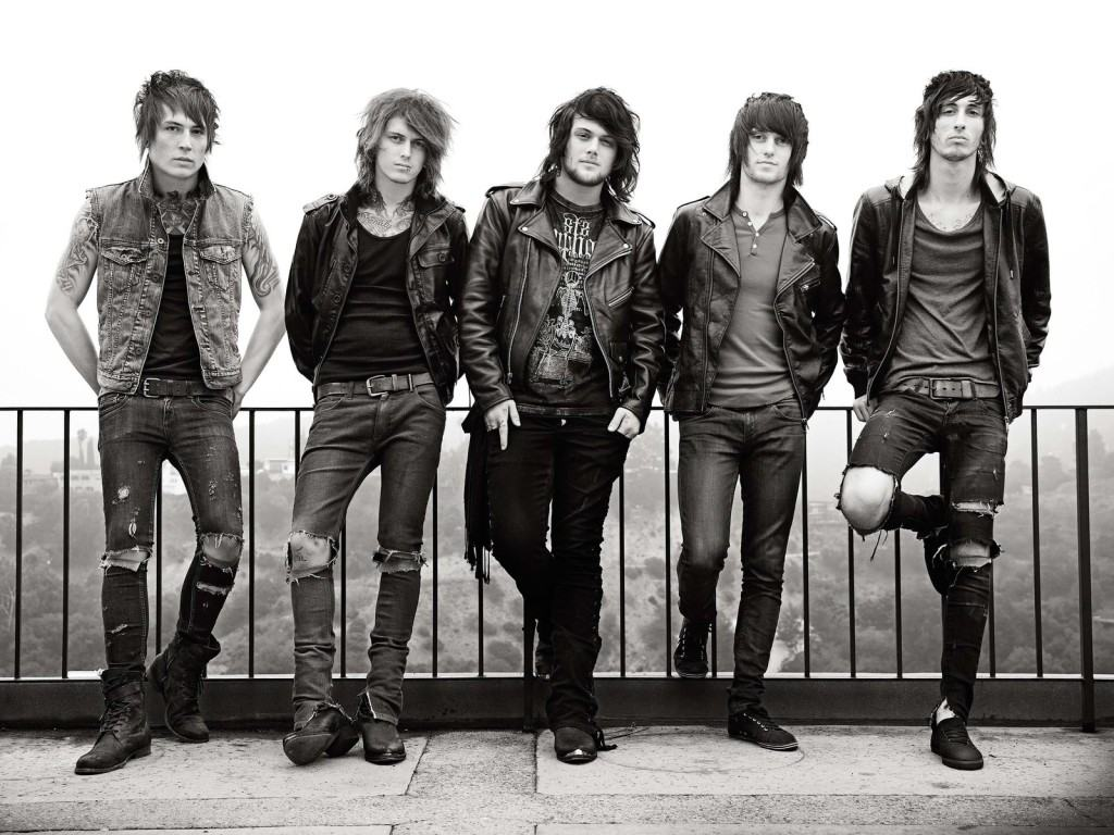 Обои Asking Alexandria 1024x768