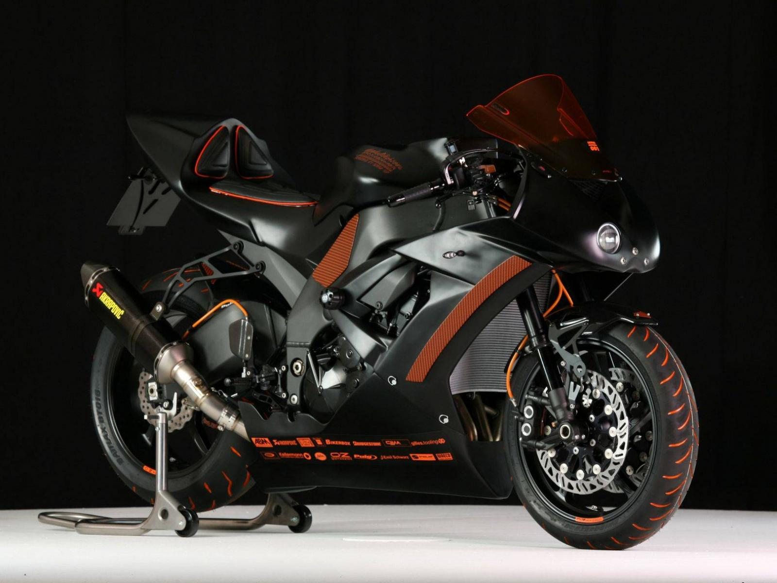 Обои Asphaltfighters Stormbringer - ZX-10R 1600x1200
