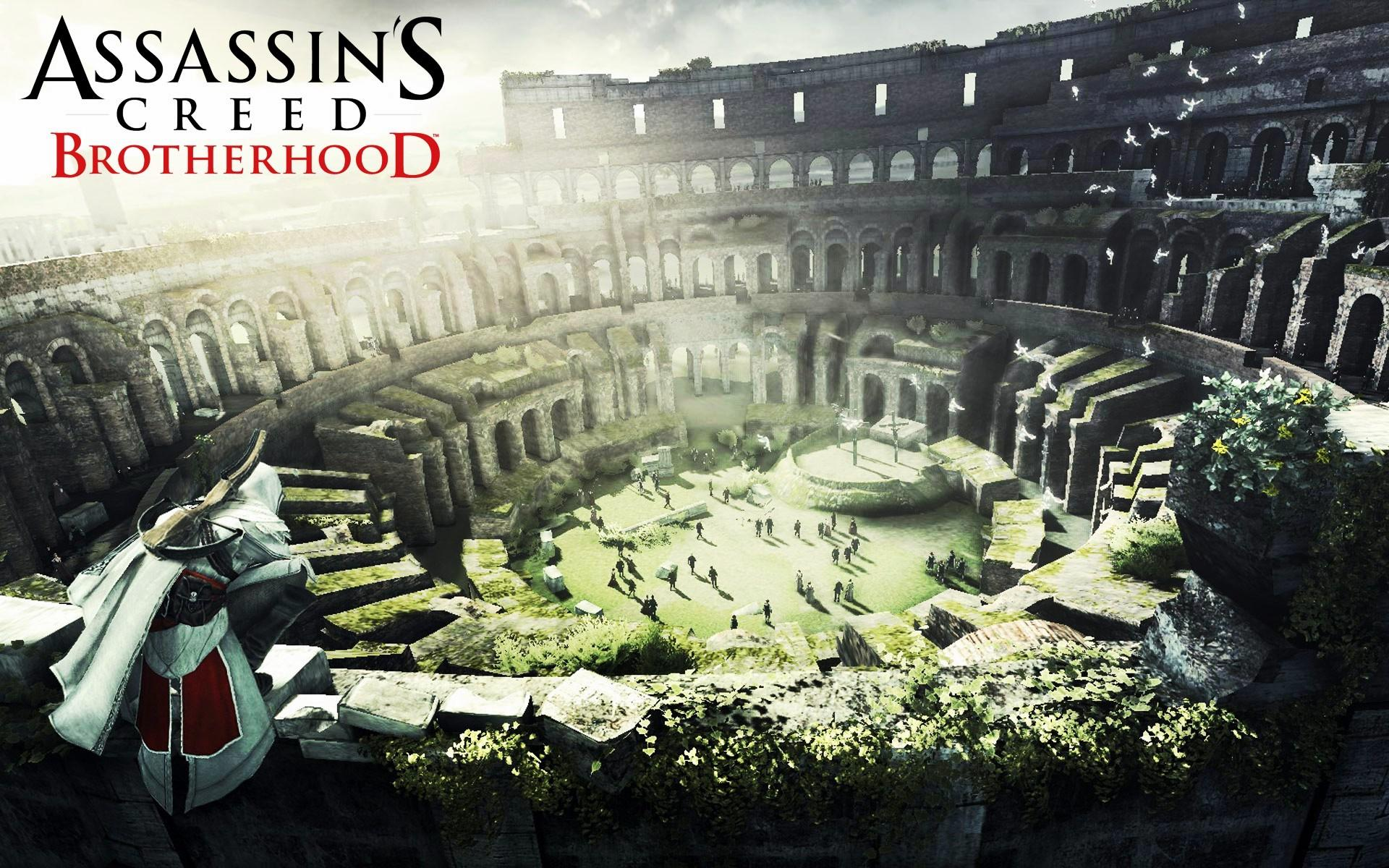 "���� Assasin""s Creed Brotherhood 1920x1200"