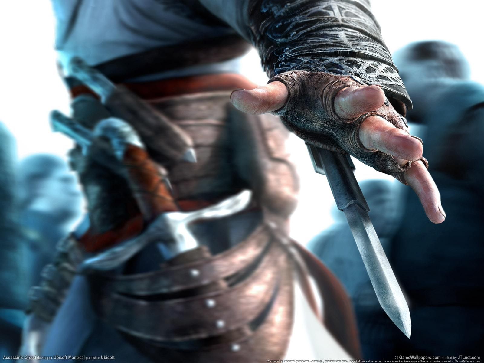 Обои Assassin's Creed герой 1600x1200