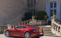 Aston Martin DBS Red / 1280x1024
