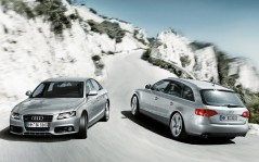 Audi A4 Coupe and Universal / 1280x1024