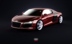Audi R8 Red / 1920x1200