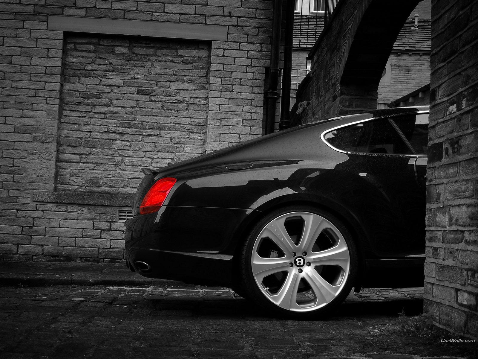 Обои Back Bentley Continental GT S 1600x1200
