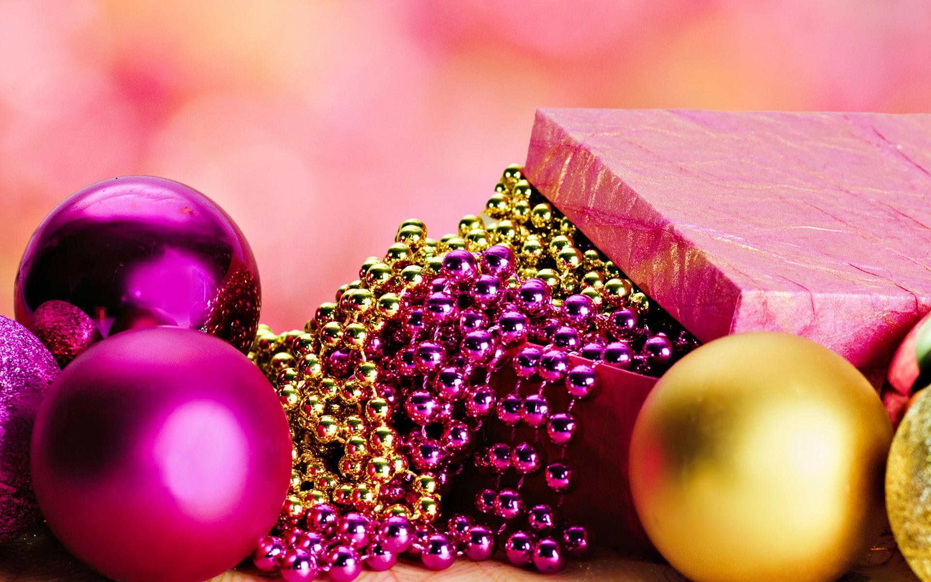 ���� Balls and beads 1920x1200