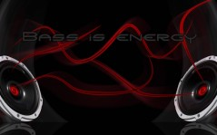 Bass is energy / 1920x1080