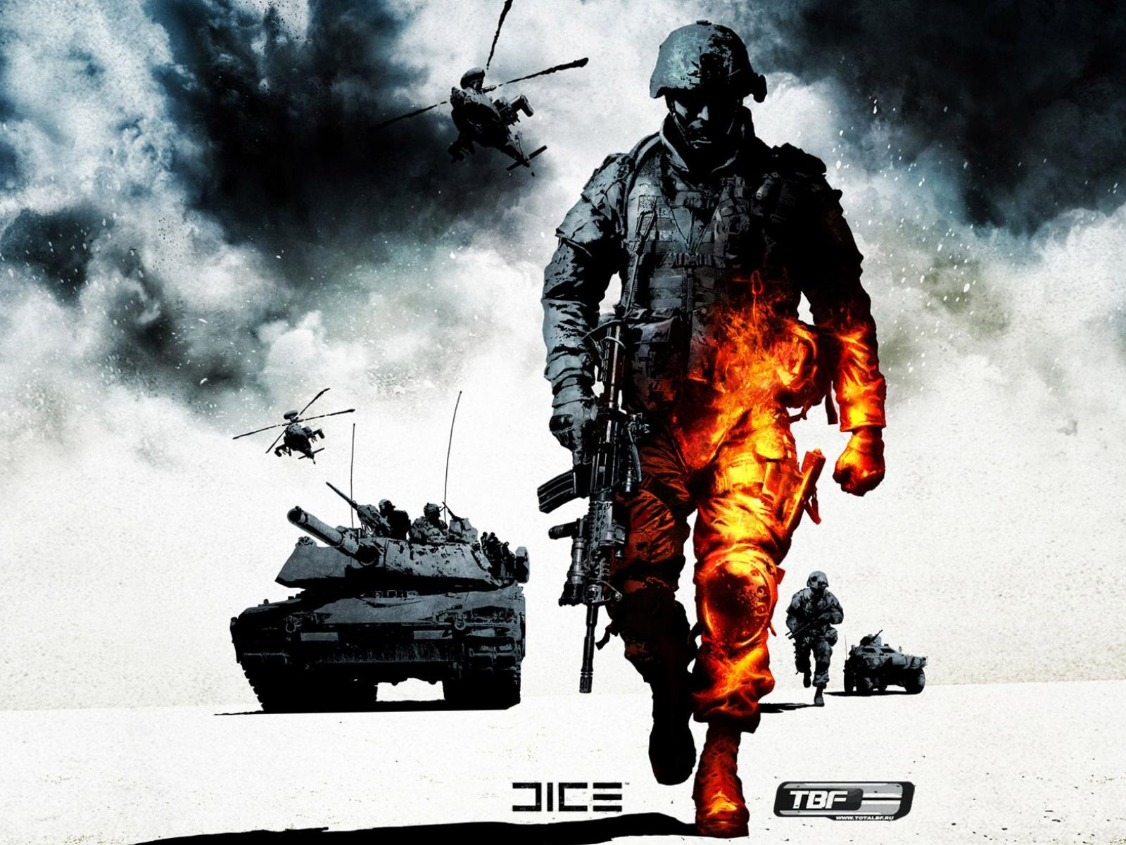 Обои Battlefield Bad Company 2 1600x1200