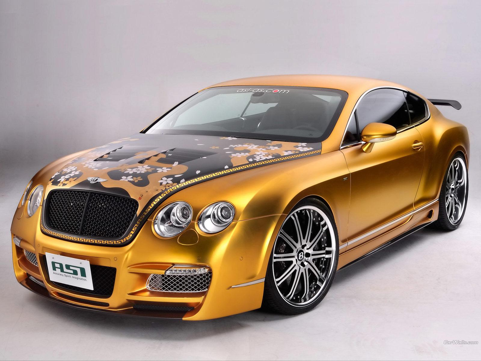 Обои Bentley Continental GT 1600x1200
