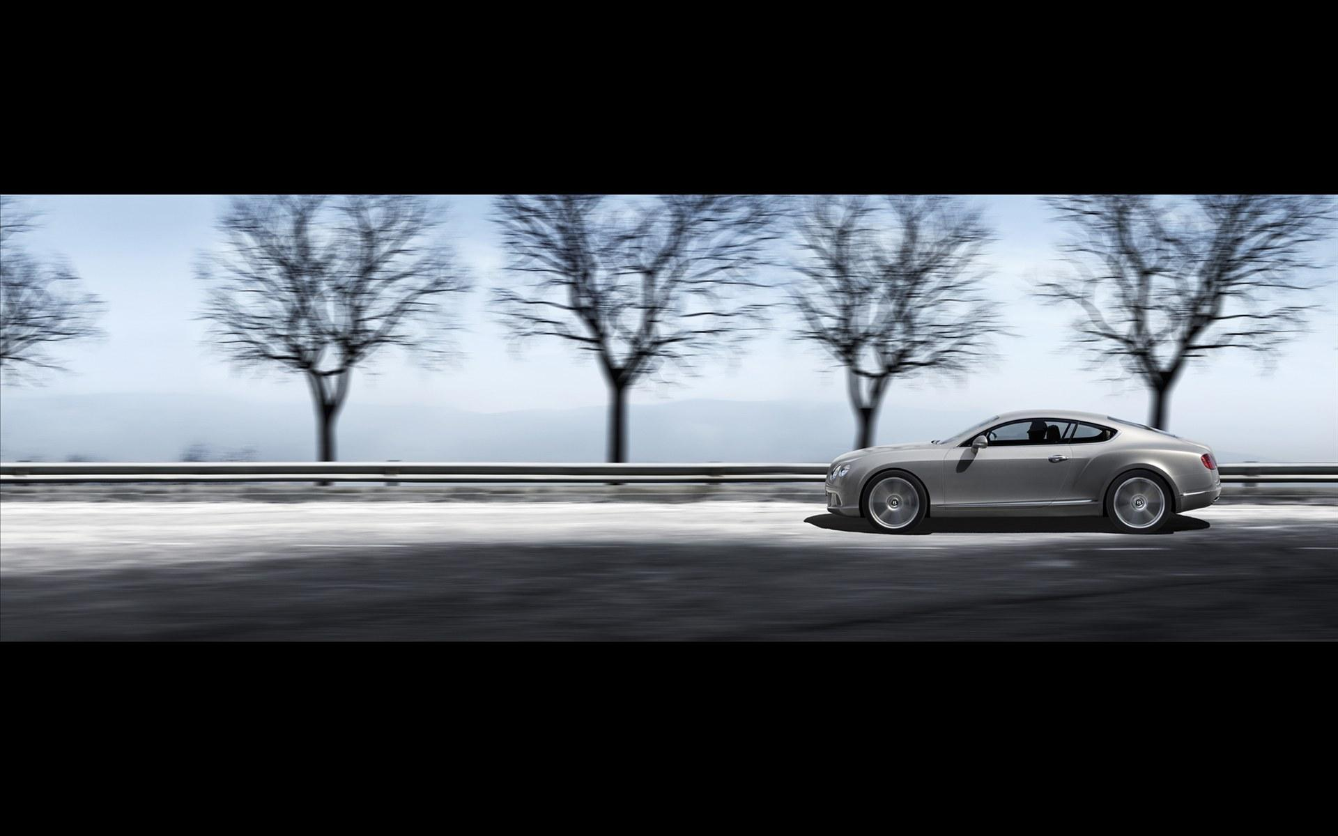 Обои Bentley Continental GT 2012 1920x1200