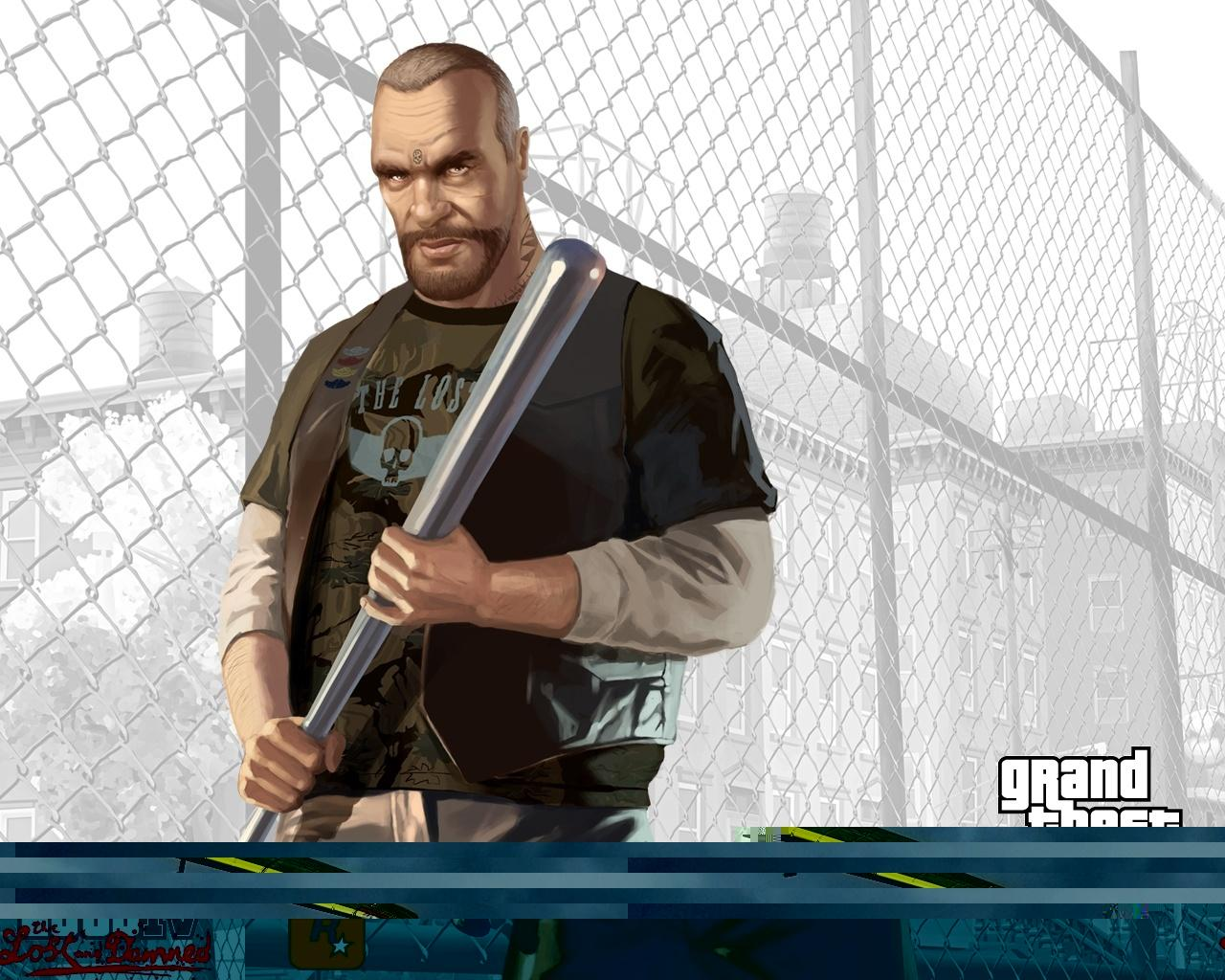 Обои Билли Грей из GTA 4: Lost and Damned 1280x1024