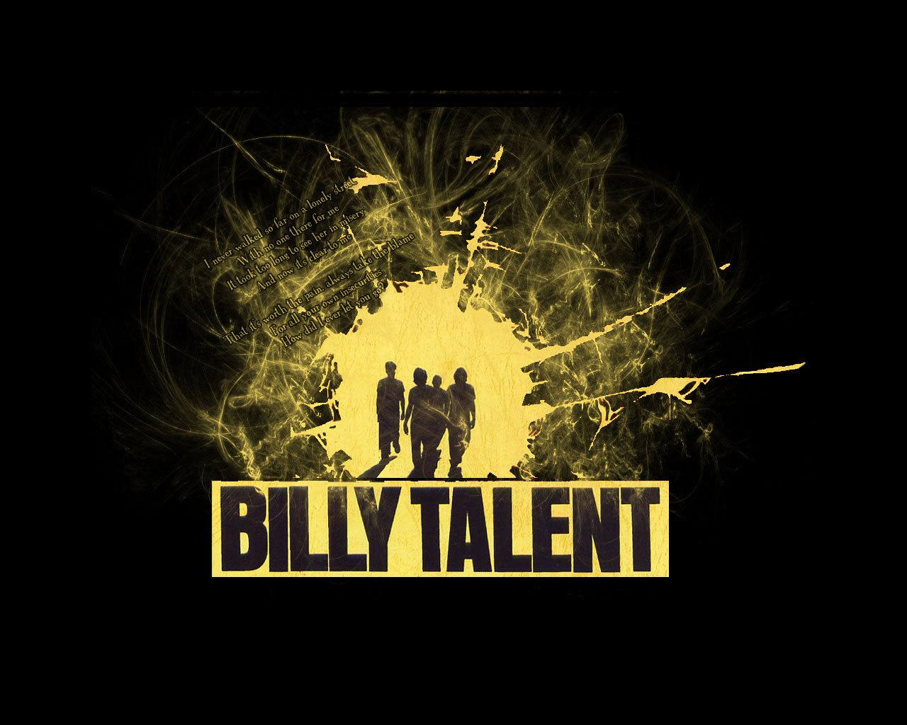 Обои Billy Talent 1280x1024