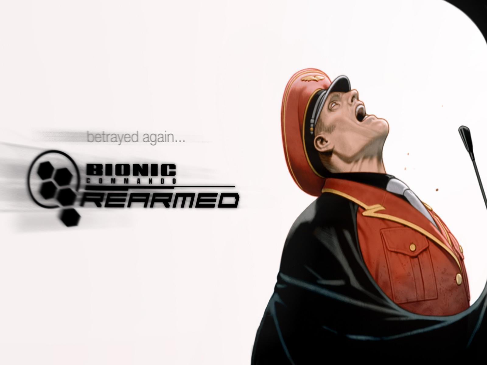 Обои Bionic Commando Rearmed 1600x1200