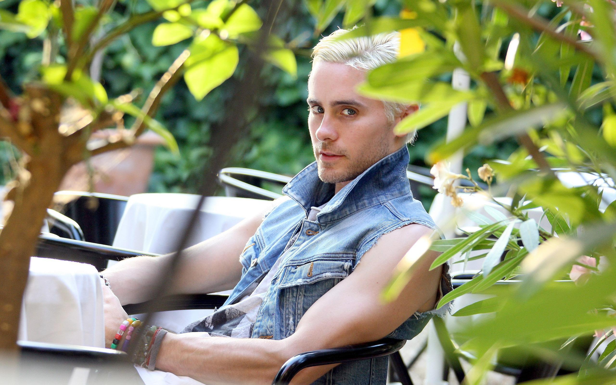 ���� Blond Jared Leto 2560x1600