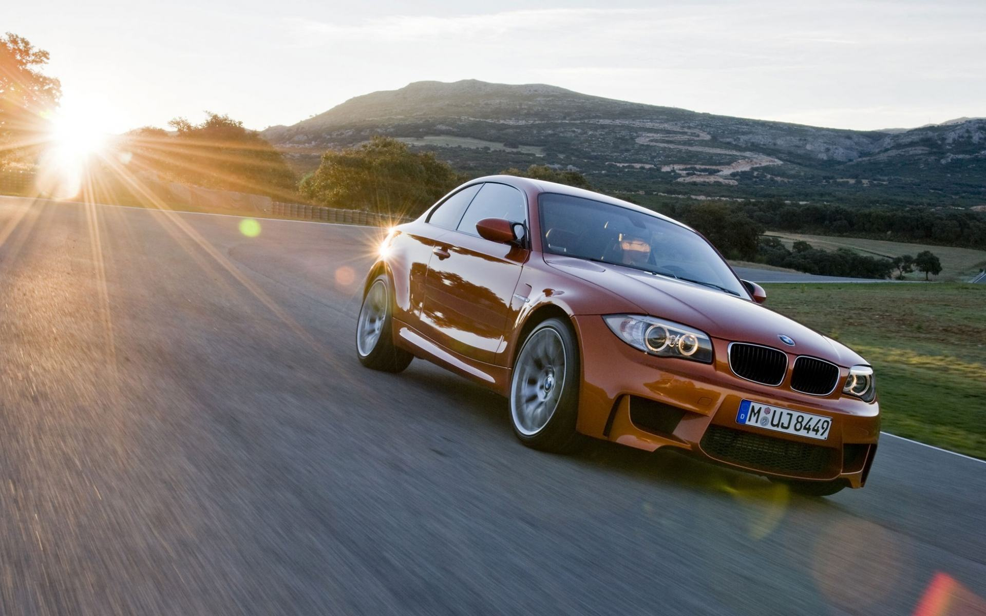 Обои BMW 1M Coupe 1920x1200