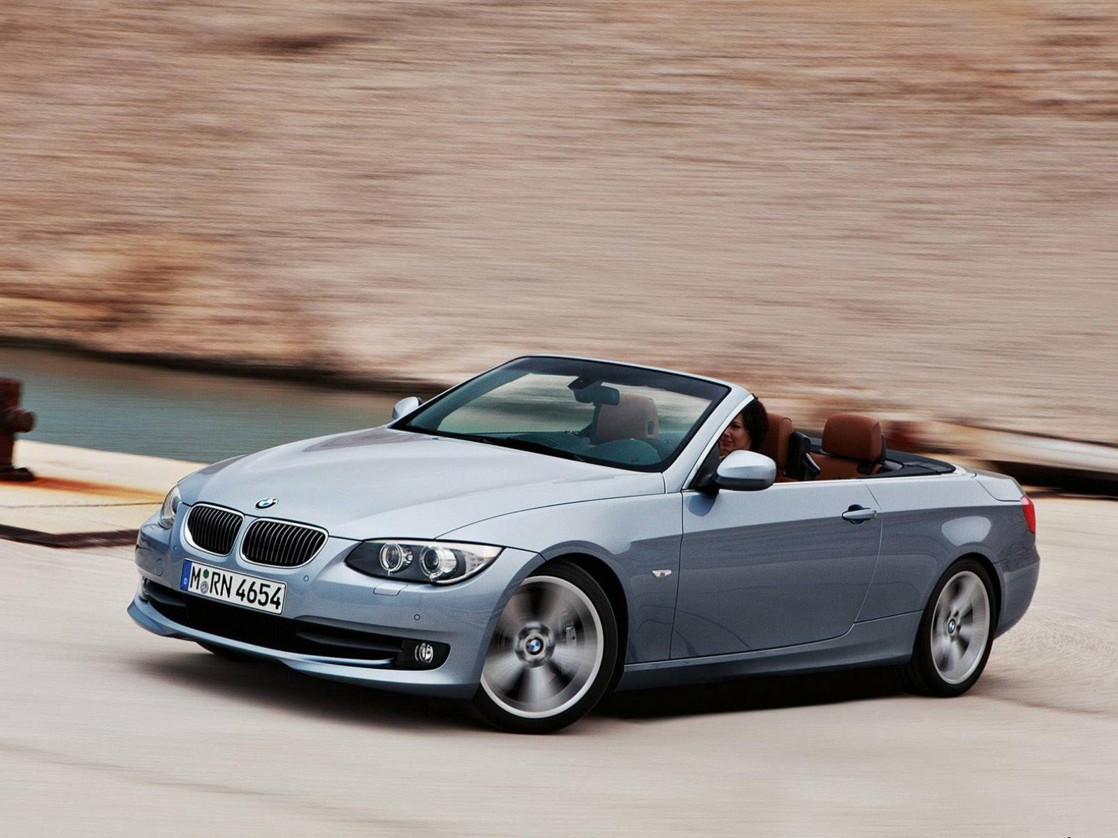 Обои BMW 3 Series Conver tible 1600x1200