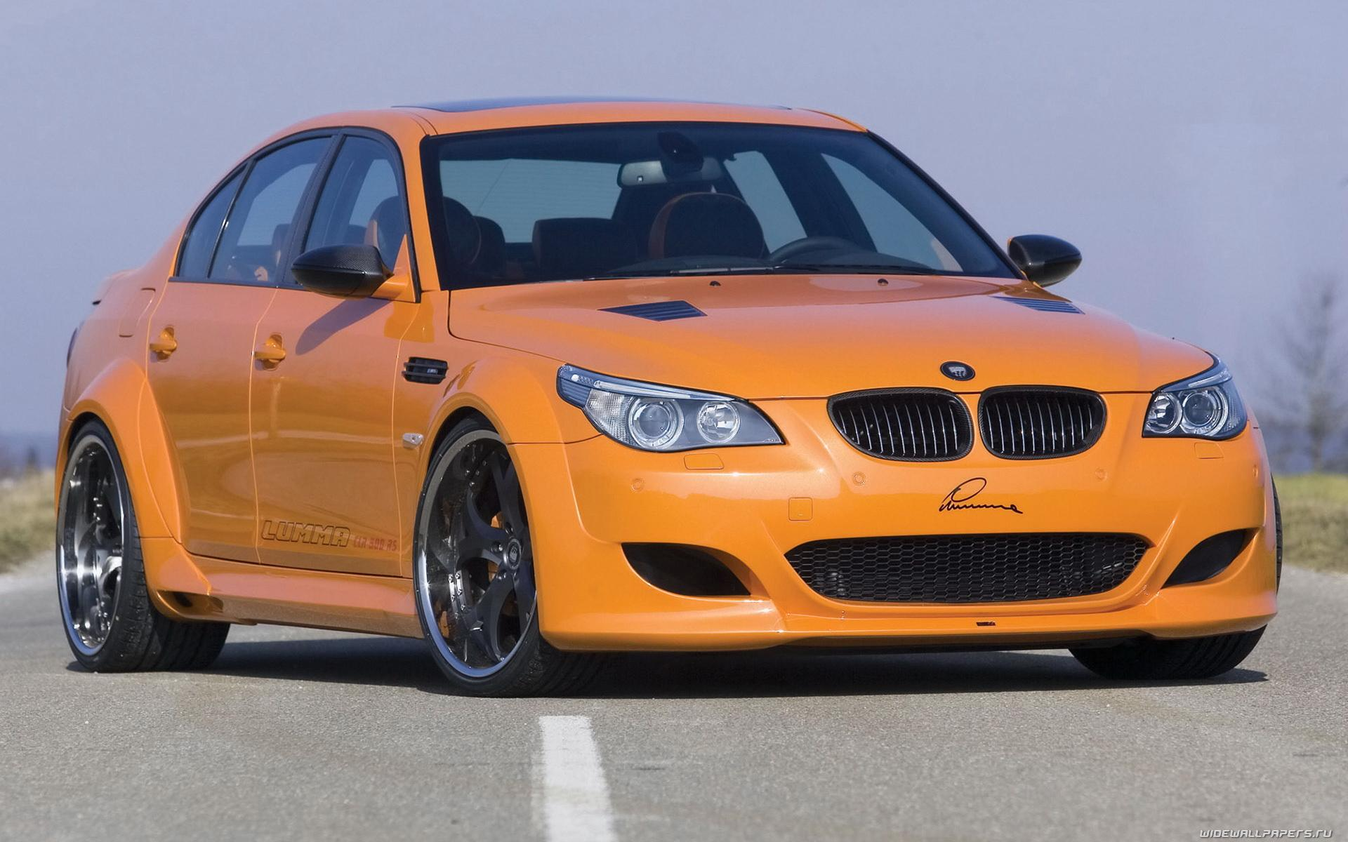 Обои BMW M5 Orange Devil 1920x1200