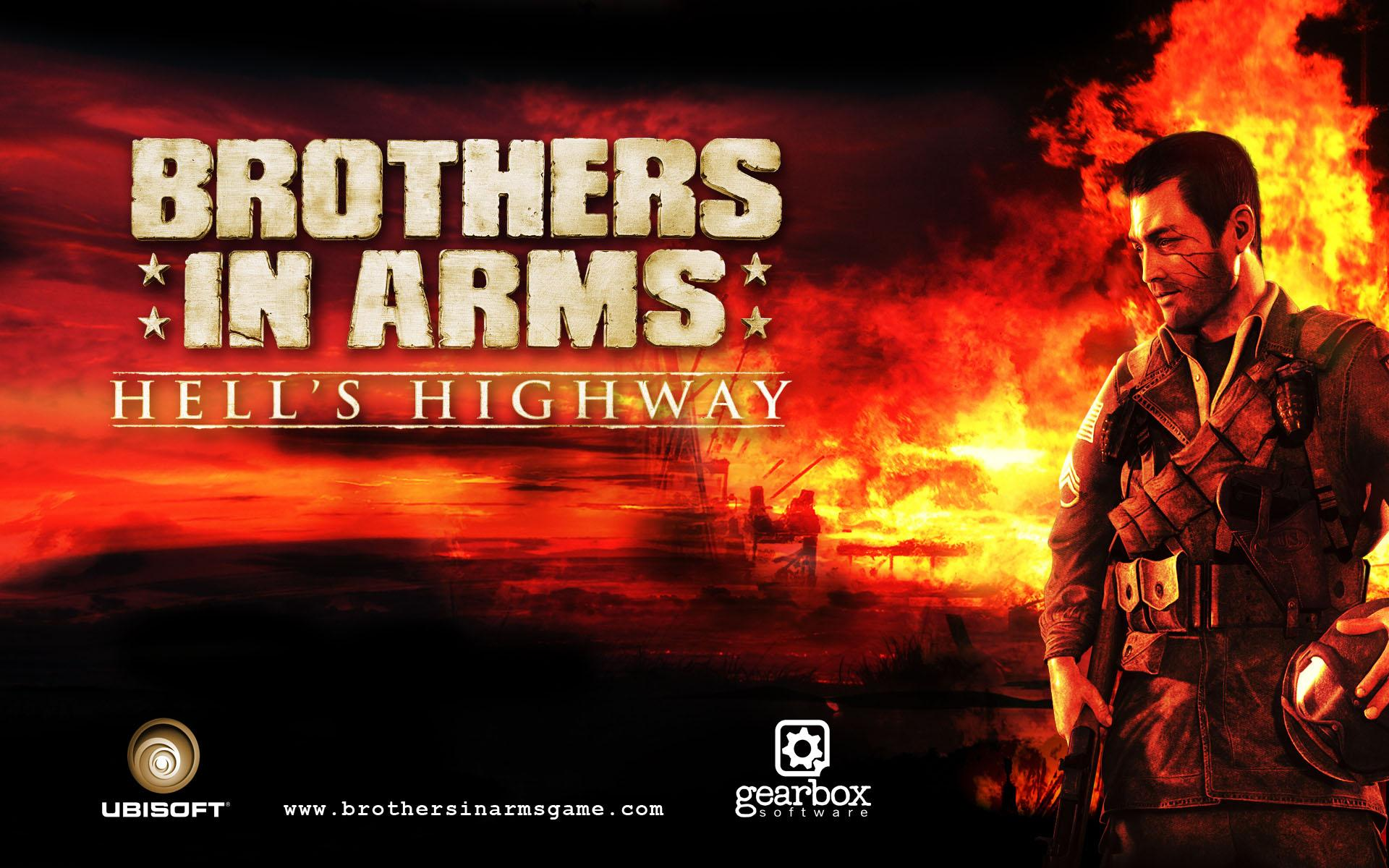 Обои Brothers in Arms 1920x1200