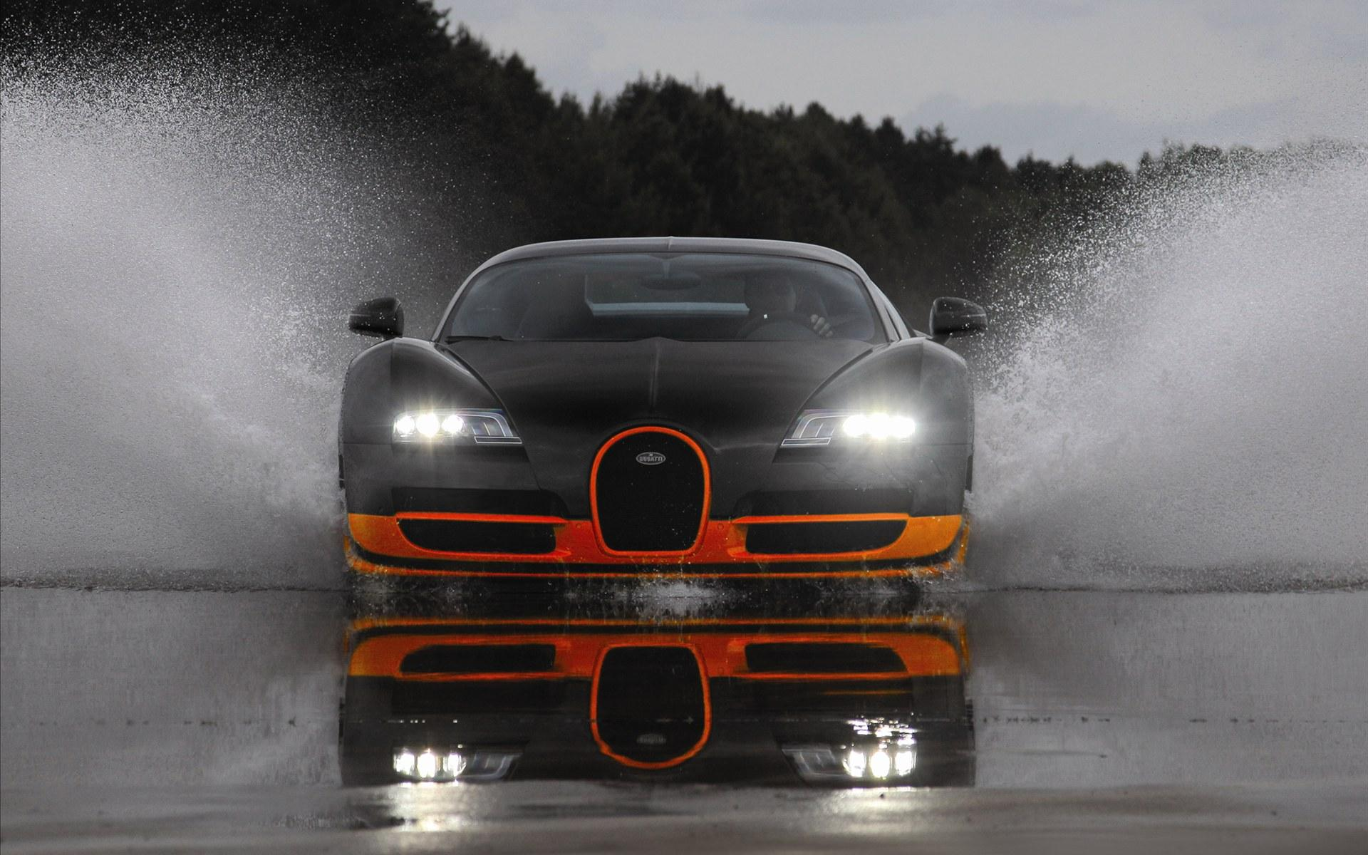 Обои Bugatti Veyron 16.4 Super Sports car 1920x1200