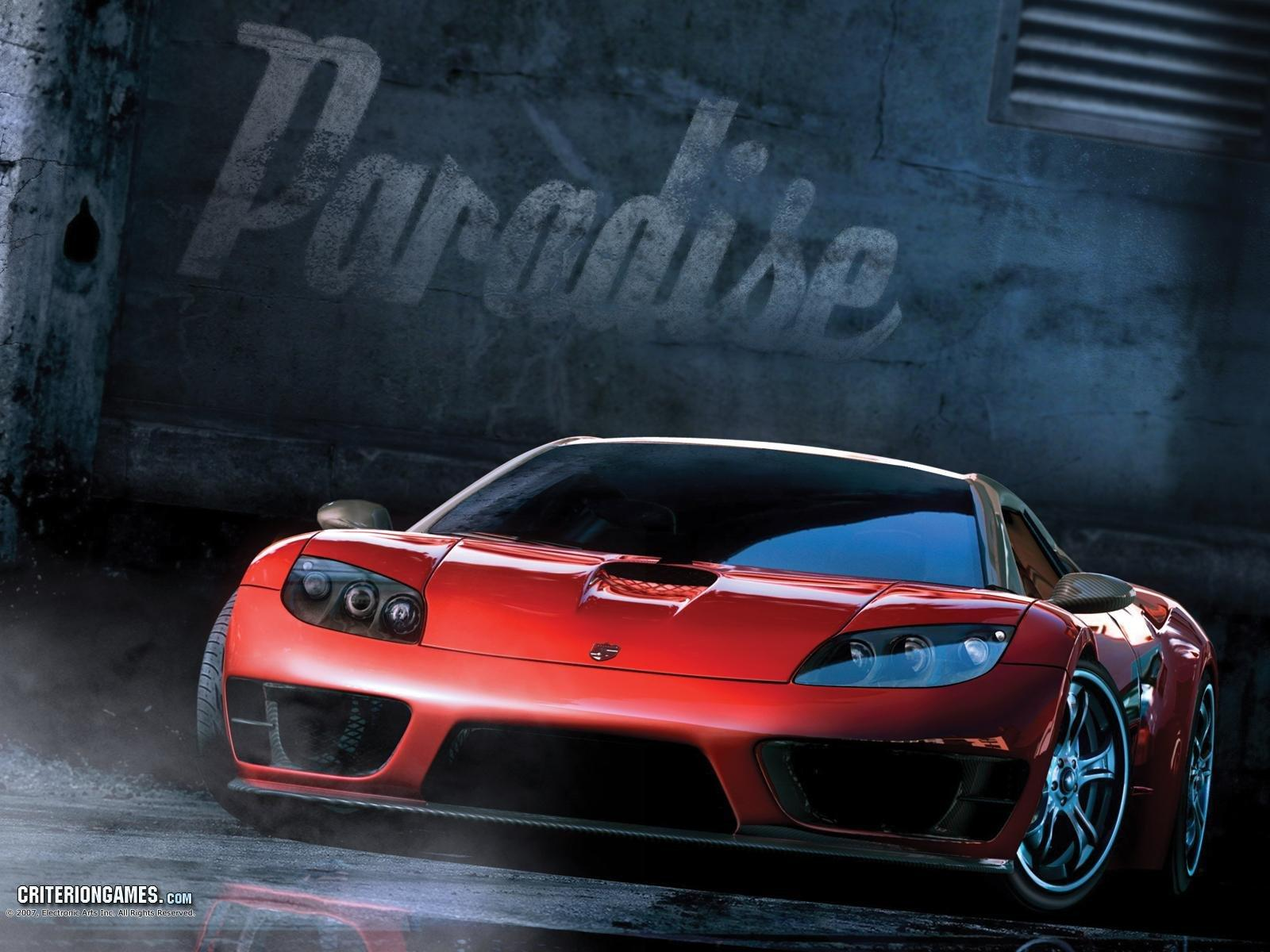 Обои Burnout Paradise: The Ultimate Box 1600x1200