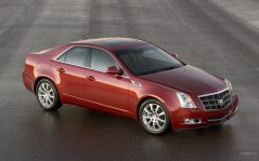Cadillac CTS Red / 1920x1200