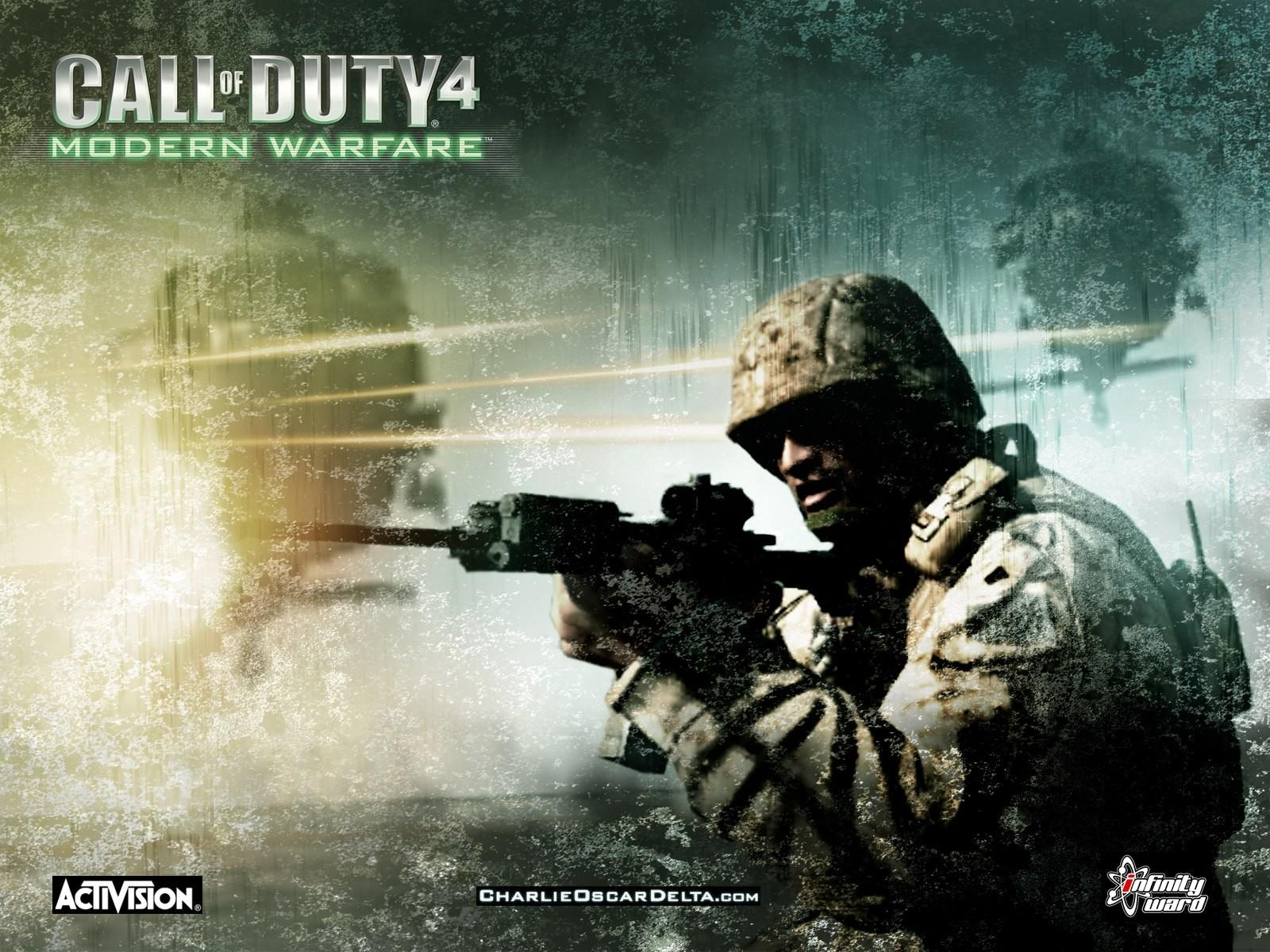 Обои Call of Duty 4: Modern Warfare 1600x1200