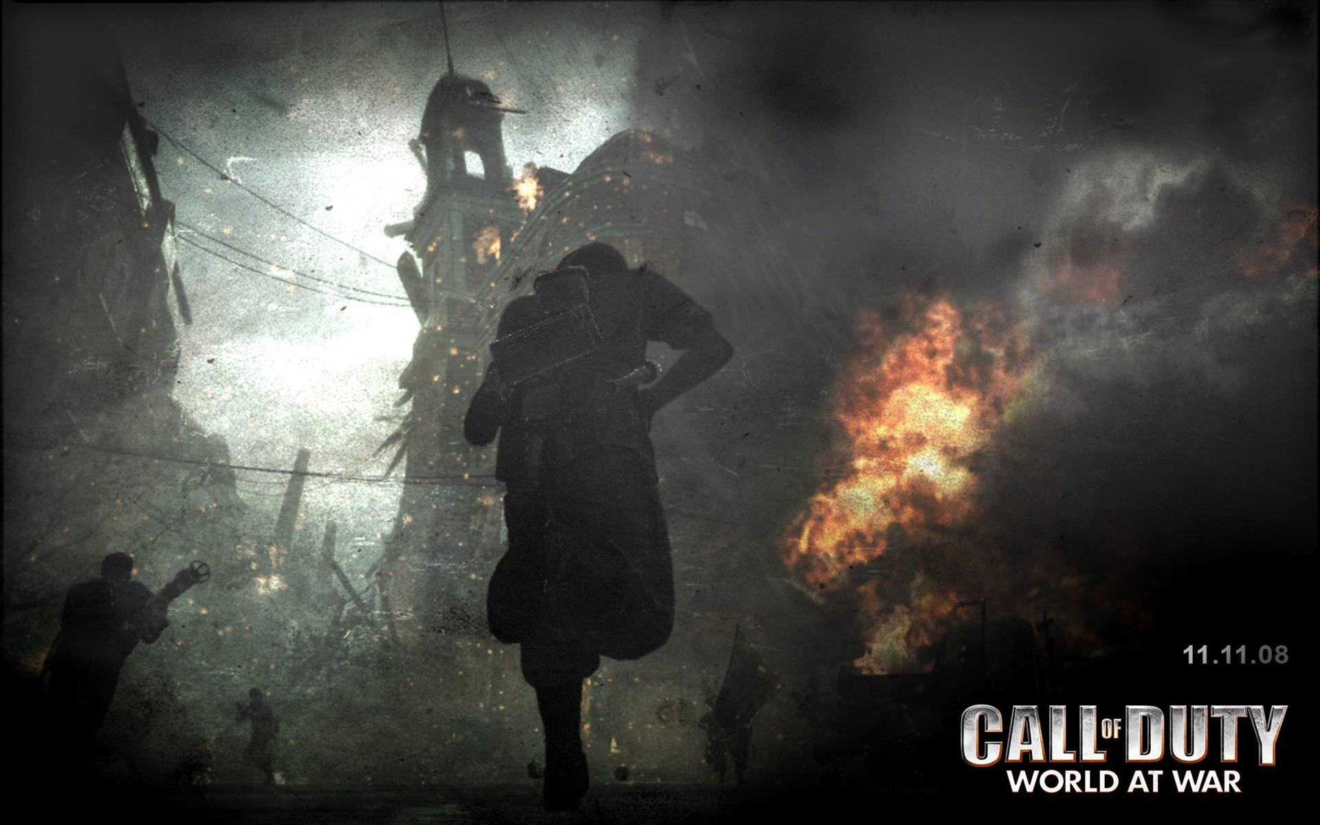 Обои Call of Duty 5, Мир в войне 1920x1200