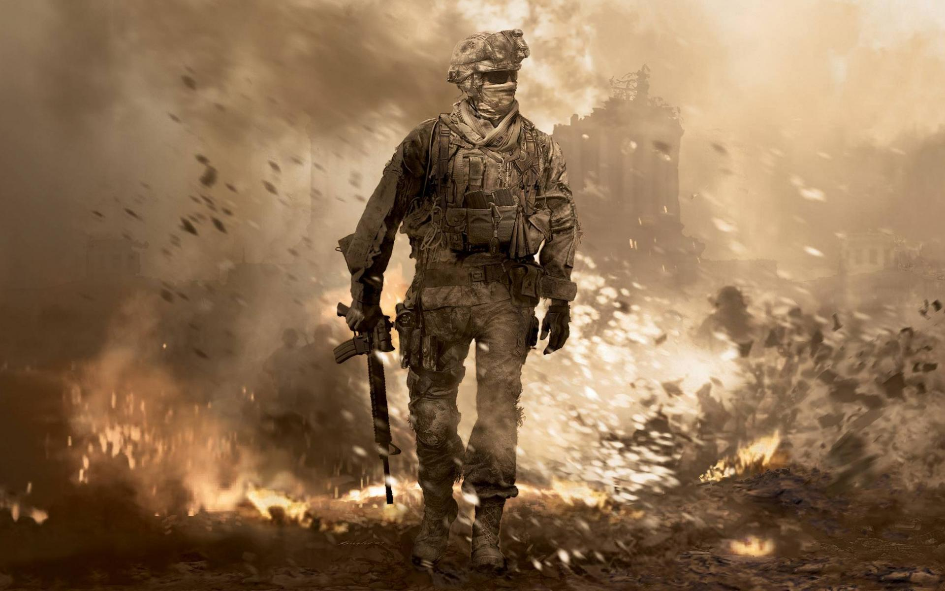 Обои Call of Duty Modern Warfare 2 1920x1200