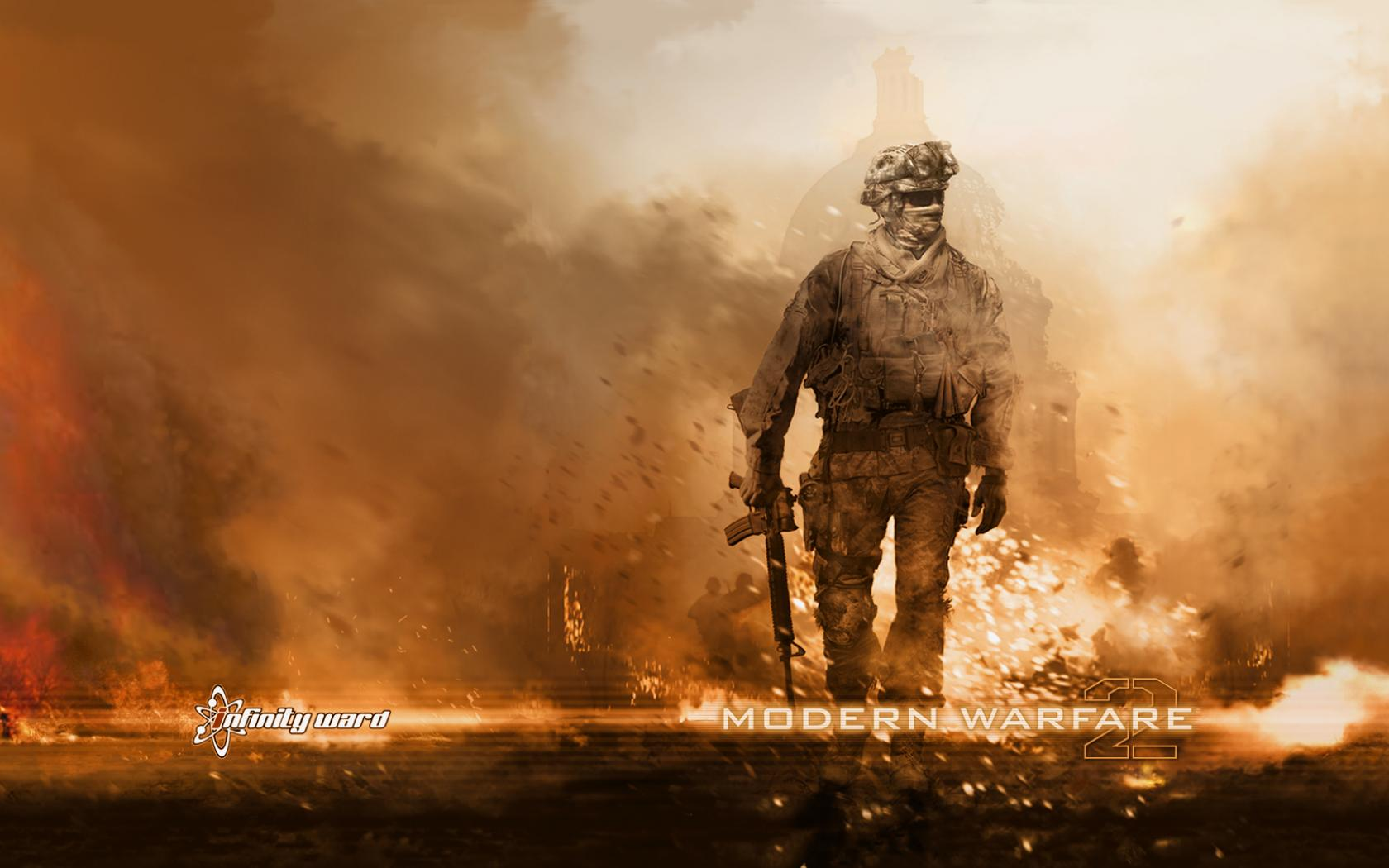 Обои Call of Duty: Modern Warfare 2, пикселей 1680x1050