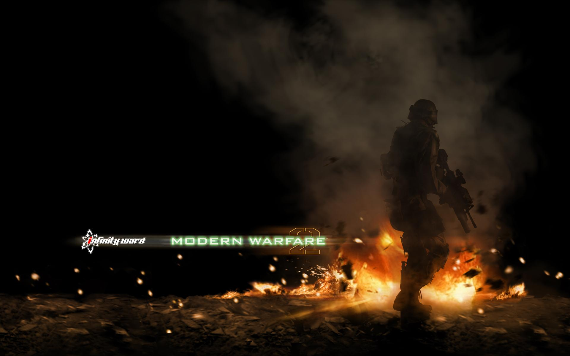 Обои Call of Duty MW2 1920x1200