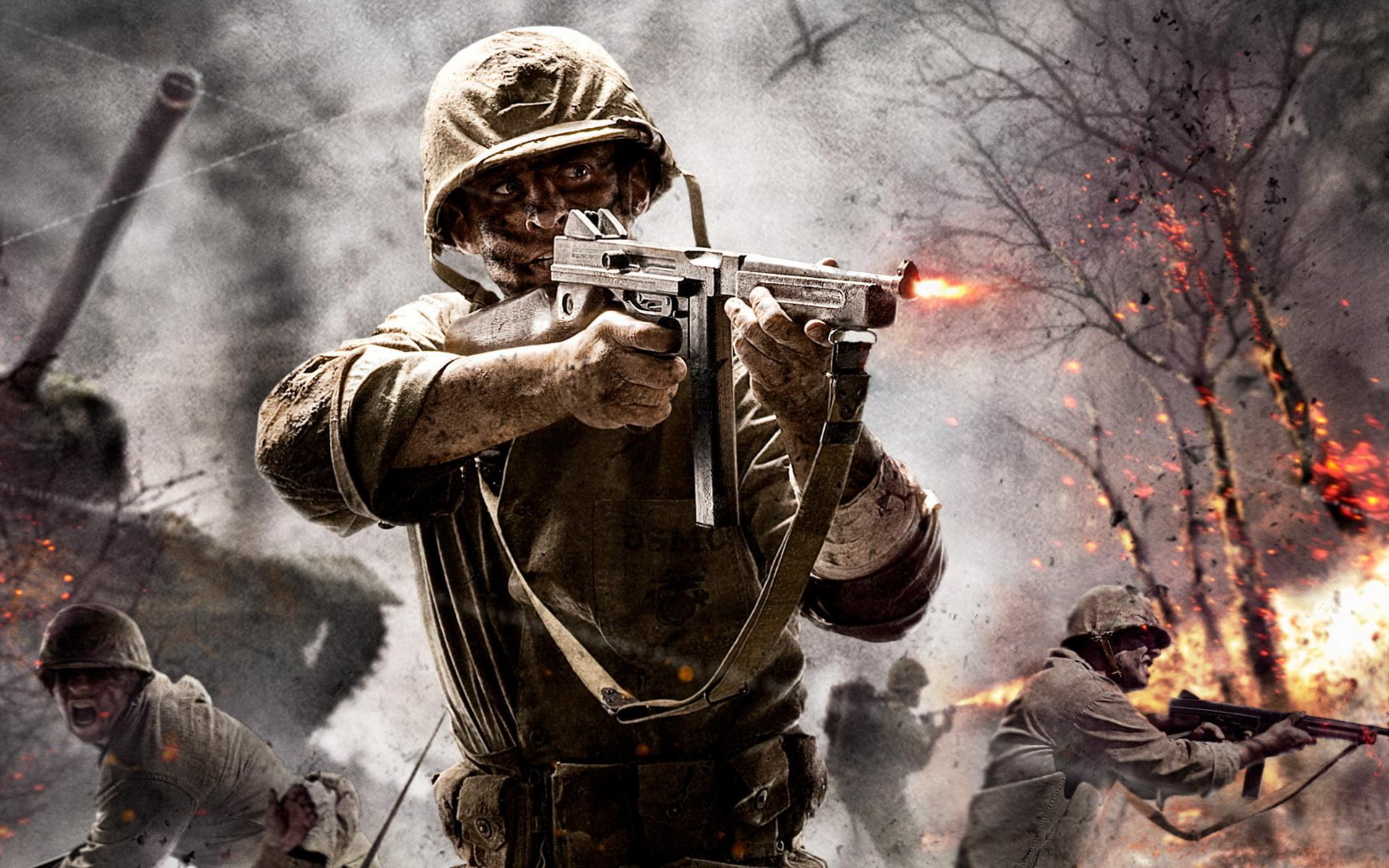 Обои Call of Duty: World at War 1920x1200