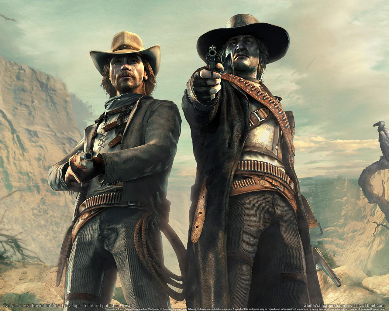 Обои Call of Juarez 1280x1024