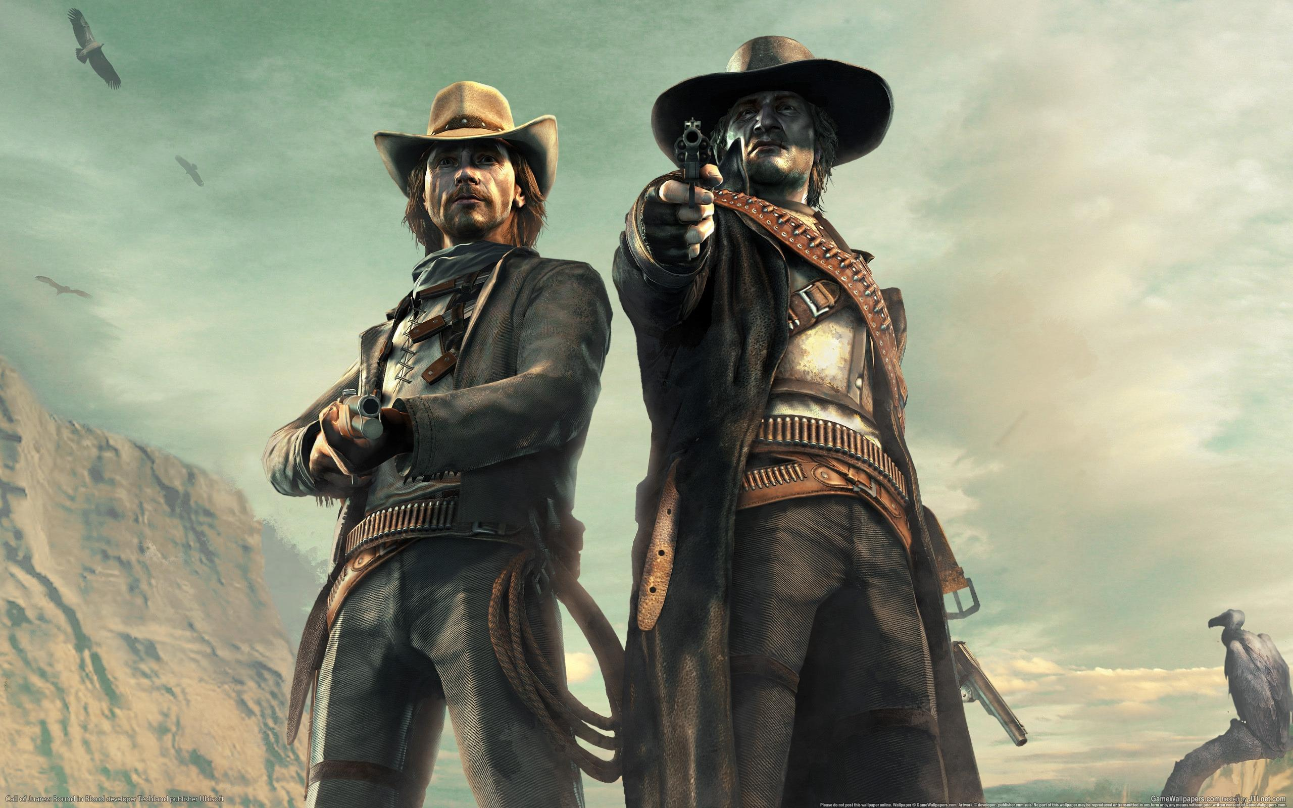 Обои Call of Juarez: Bound in Blood 2560x1600