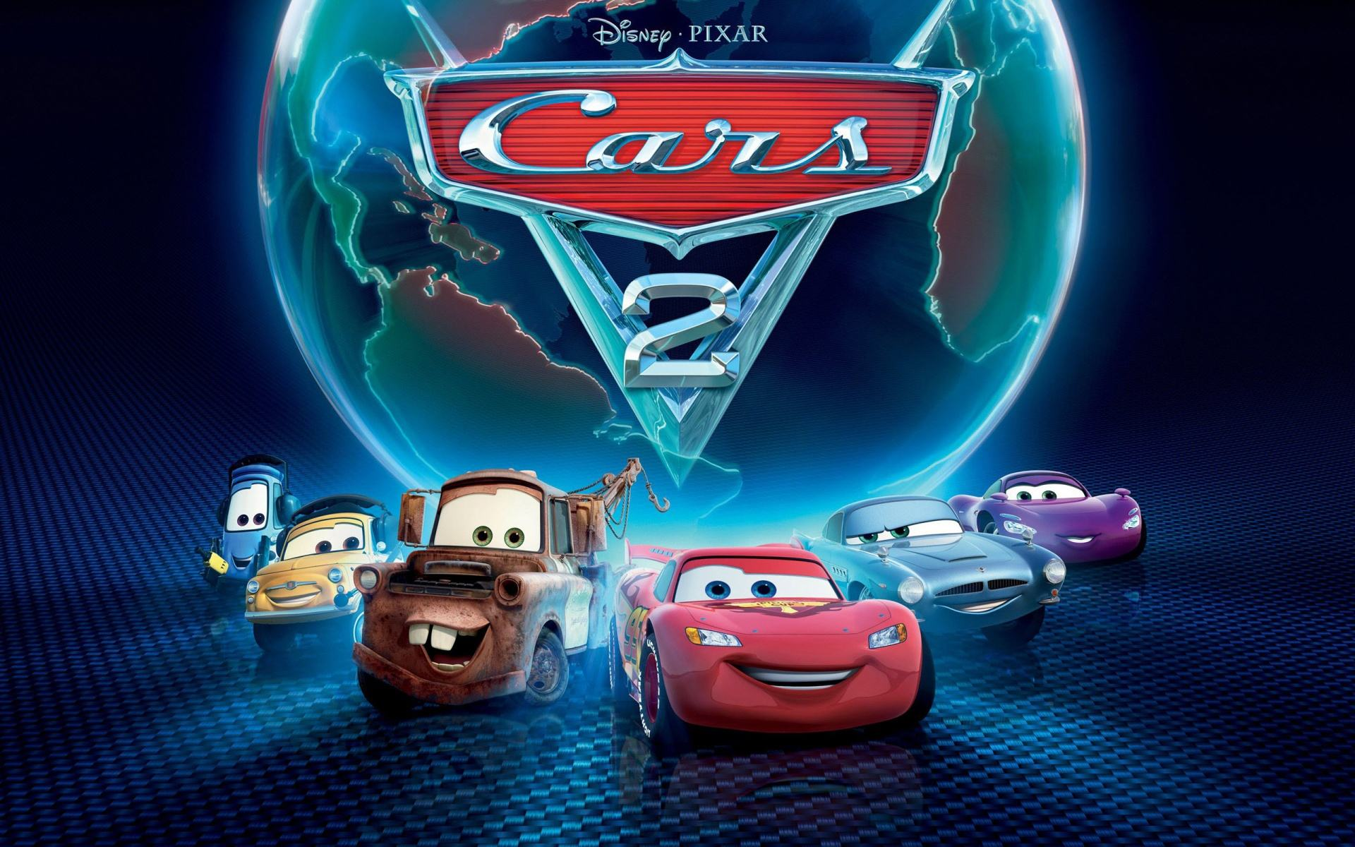 Обои Cars 2, Disney Pixar 1920x1200