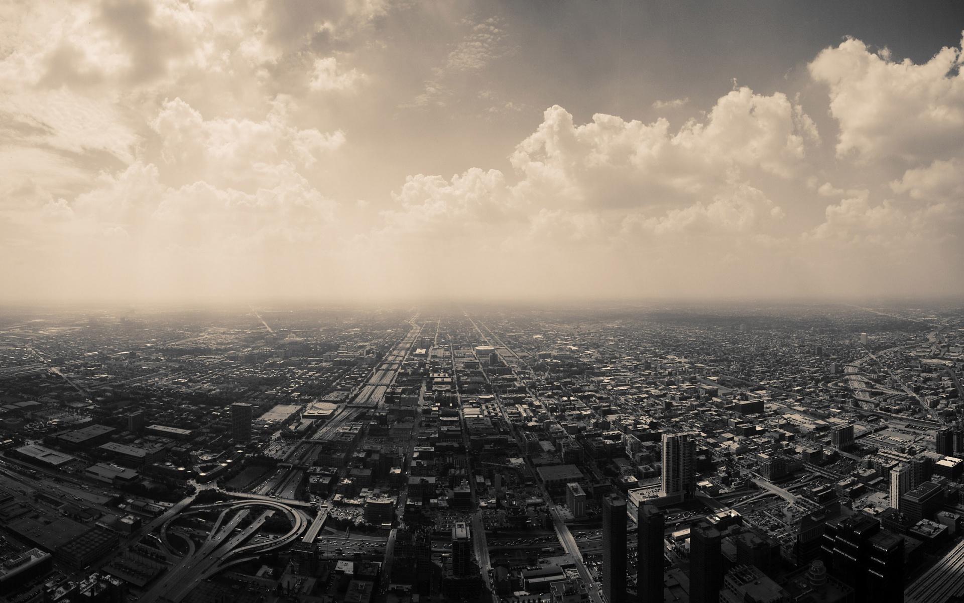 фото черно-белые города