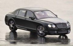Чёрный Bentley Flying / 1920x1200