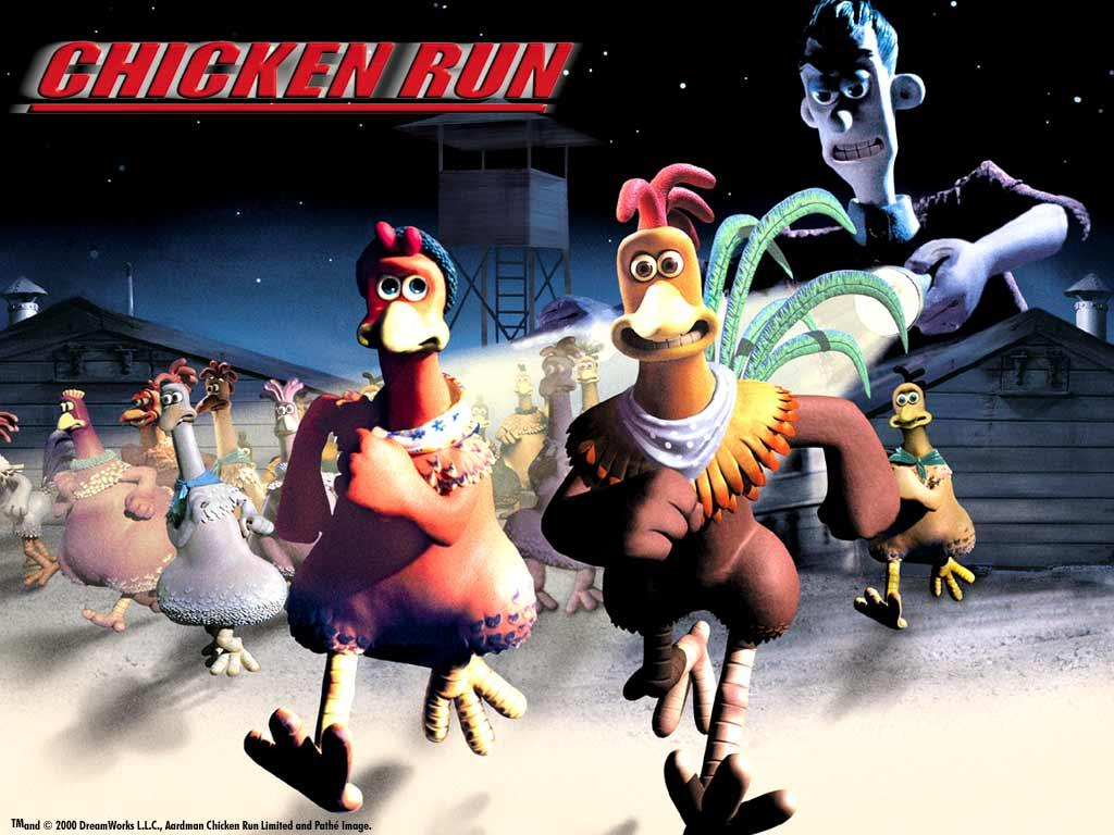 Обои Chicken Run 1024x768