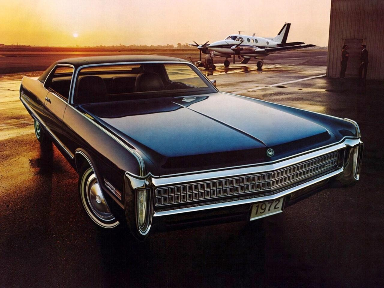 Обои Chrysler Imperial LeBaron 2-door Hardtop '1972 1280x960