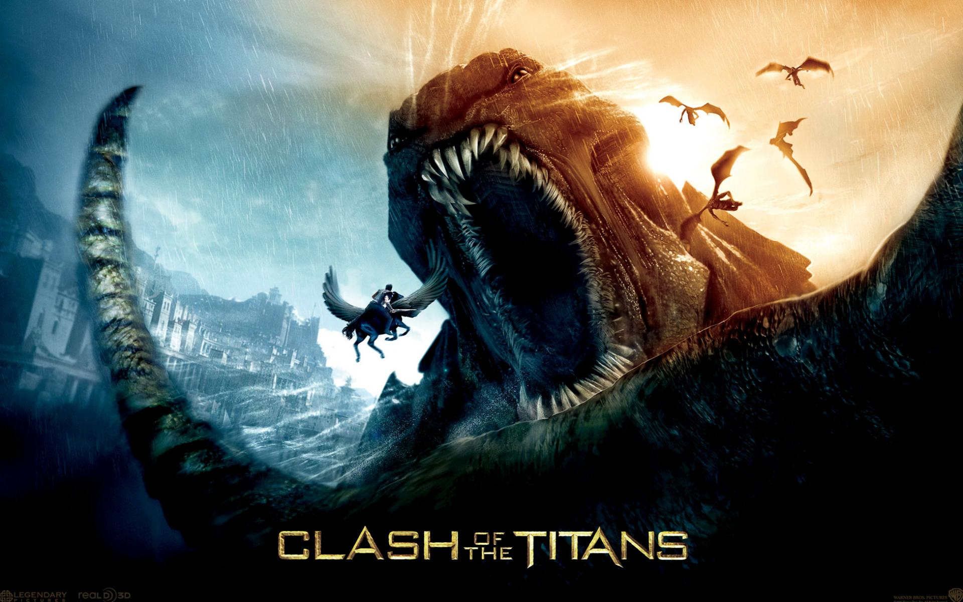 Обои Clash of the Titans 1920x1200